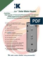 Bock Solar Water Heaters