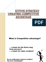 Competetiveadvantage-types of Strategy