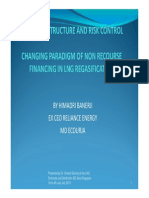 Contract Structure and Risk Control in LNG Regasification