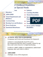 Types of Special Needs