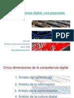 BORIS MIR La Competencia Digital Una Propuesta