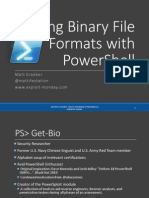 Parsing Binary File Formats With PowerShell