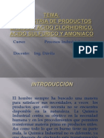 Industria Quimica Acidos - Clase n 3