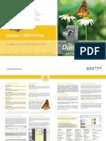 Dantex 1290 Printer