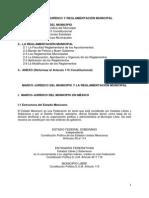 Marco Jurídico y Reglamentación Municipal