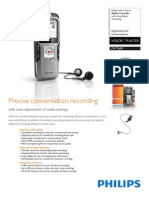 Philips DVT 3600 Voice Tracer Digital Recorder with Optimized for Conversations