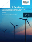Supply Chain Mgmt Wind Energy Learns From Oil and Gas