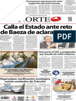 Periódico Norte edición impresa día 13 de marzo 2014