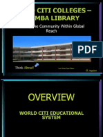 WCC Guimba Library Ppt