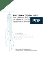 Building a Digital City
