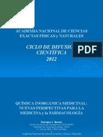 Quimica Inorganica Medicinal