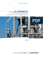 Gas Turbine Service Contracts