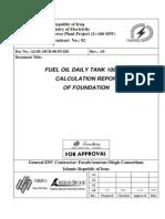 135435462 Steel Tank Design Report Calculation Sheet