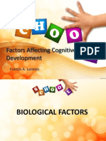 Child Adolescent Module5 Factors Affecting Cognitive Development