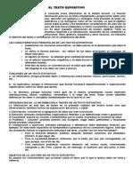 El Texto Expositivo 2013