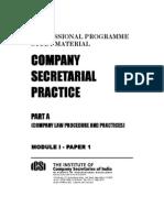 Company Secretarial Practice - Part A