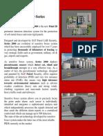 SAT Patrol Series 2000, Perimeter intrusion detection systems