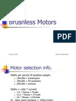 Brushless Motors