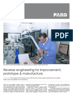 Reverse Engineering for Improvement Prototype