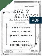 Morales -Azul Y Blanco