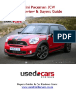 Mini Paceman JCW Car Review & Buyers Guide