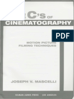 The Five C's of Cinematography - Motion Picture Filming Techniques