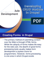 CRUD Module Development