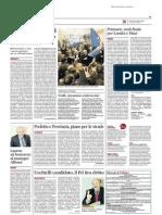 Laurea ad honorem al manager Alfonsi - Il Messaggero del 12 marzo 2014