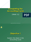 Week11-Completing the Accounting Cycle