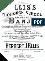 Ellis 5 string Banjo method