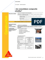 Sisteme de Consolidare Compozite Sika CarboDur