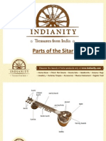 Parts of the Sitar