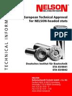 Europian Nelson Approval