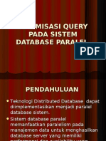 Optimasi Query Pada Sistem Database Paralel