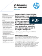 Case Study - HP Future-proofs Data Centers With Best in Class Equipment
