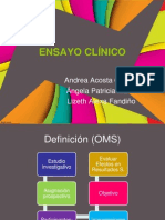 Presentacion Ensayo Clinico
