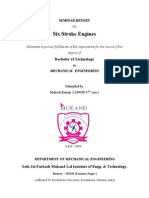 Seminar Report on Six Stroke Engines