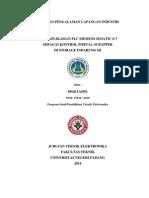 Laporan Pengalaman Lapangan Industri Semen Padang