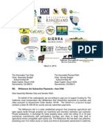 Williamson Act letter to Budget Subcommittee 03052014