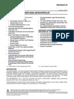 datasheet MSP4302231