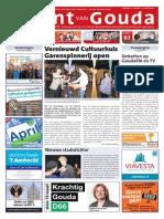 De Krant Van Gouda, 13 Maart 2014