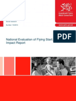 National Evaluation of Flying Start