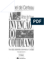 A invernção do cotidiano Vol 1