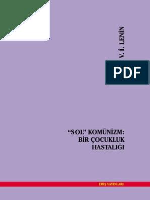 Lenin Sol Komunizm