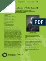 The Correspondence of John Tyndall - leaflet