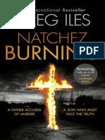 Natchez Burning, by Greg Iles - Extract
