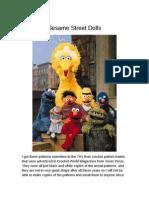 Sesame Street Dolls