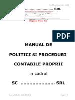 Manualpoliticisiproceduricontabilesc............Srl Schita.doc