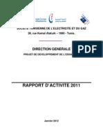 Rapport d Activite 2011