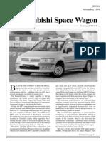 Mitsubishi Spacewagon Nov99